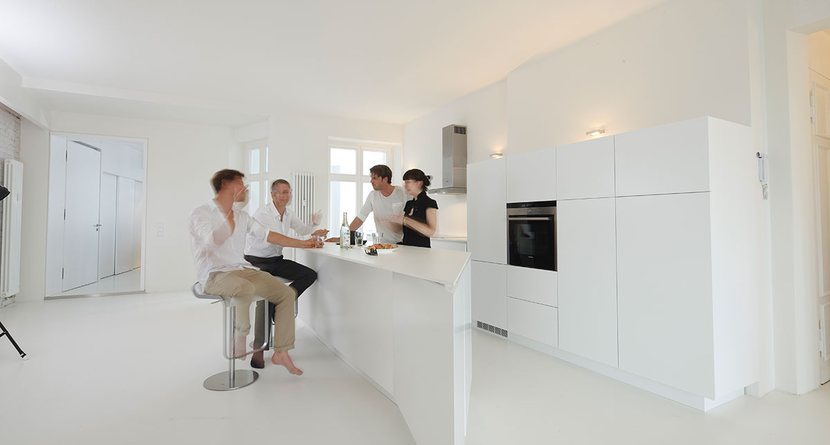 The Live In Kitchen Has Grown To The Open Domain Of Modern Floor Plan  Design.